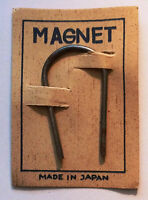 Vintage Original 1950's Carded Toy Magnet From Japan