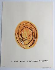 CHRIS JOHANSON 2008 signed numbered silkscreen print - barry mcgee banksy kaws B