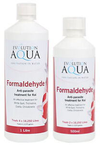 Evolution Aqua Med Formaldehyde Anti-parasite treatment for Koi 1000ml
