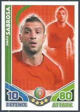 TOPPS MATCH ATTAX WORLD CUP 2010-PORTUGAL-SIMAO SABROSA