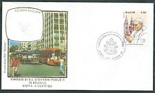 1980 VATICANO VIAGGI DEL PAPA BRASILE CURITIBA - RM1