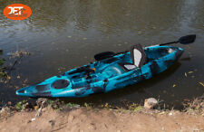 Jetocean 3.1M 1+1 Fishing Kayak Canoe for Kid and Adult 1.5 Seats Double Tendem