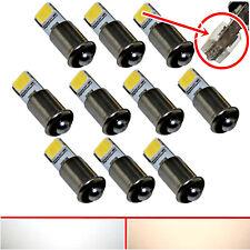 10x 100x LED MS4 - für Märklin Glühlampen Modellbahn warmweiß Beleuchtung weiß