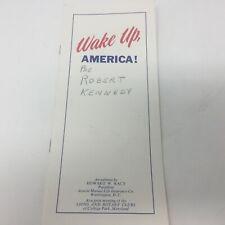 Wake Up America! circa 1966-68 Acacia Life Booklet Howard W Kacy Riots Vietnam