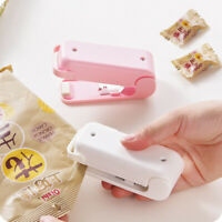 Mini Sealing Machine Household Heat Portable Bag Sealer Plastic Food Impulse ZE