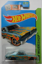 2015 Hot Wheels HW WORKSHOP '74 Brazilian Dodge Charger 206/250 (Aqua Version)
