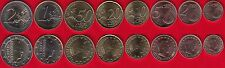 Luxembourg euro full set (8 coins): 1 cent - 2 euro 2017 UNC