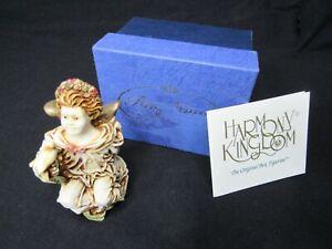 HARMONY KINGDOM ANGELIQUE LA GARDIENNE ANGEL ANSE98 ENGLAND CHERUB w/Box w/COA