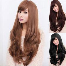 2017 Wig Natural Curly Straight Wavy Fancy Dress Fashion Womens Ladies Hair-Wig