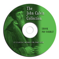 John Calvin Bible Commentary Collection-57 Volumes-Christian Study-CD-eBook-PDF