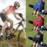 Outdoor Climbing Sport Bicycle Cycling Bike Half Finger Mesh Gloves Breathable