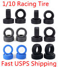 1/10 RC Car 4PCS High Performance Grip Rubber Racing Tyre Wheel Tires with Foam