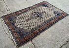 Antique Nice Worn Patina Traditionally Middle Eastern rug Oriental Red 128x196cm