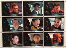 "Star Trek The Movie 2009 ""Movie Stars"" Chase Card Set S01-S09"