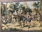 Vintage Tapestry Made in Belgium  Registered Pattern Great Condition Victorian S