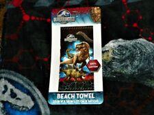 """NEW"" Jurassic World Park ~ BEACH / Bath TOWEL ~ 28 x 58 100% Cotton NWT"
