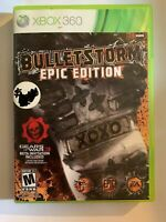 BULLETSTORM EPIC EDITION - XBOX 360 - COMPLETE W/ MANUAL - FREE S/H - (T2)