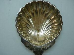 Vintage USA FB Rogers Silver Co. Model #1530 Silver-Plated Scalloped Dish 21 cm