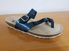 Mephisto Nalia Blue Star Comfort Leather Sandals - NEW - Size US 9 /  EU 39