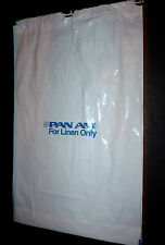 Vintage Pan Am Airlines memorabilia inflight Bag For Linen Only Bag