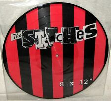 THE STITCHES 8x12 LP Pic-Disc PUNK ROCK Pushers SMUT PEDDLERS Smogtown LIMITED X