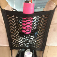 Car Seat Gap Cargo Organizer Storage Net Elastic Nylon Hammock Holder Mesh TOP