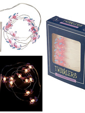 Twinklers LED pink battery unicorn fancy string lights girls ladies party gift