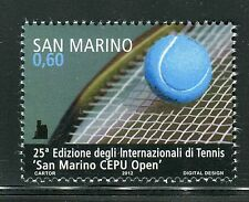SAN MARINO 2012 INTERNATIONAL TENNIS OPEN/RACKETT/BALL