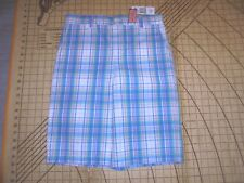 YOUTH SIZE 16 BLUE/PINK/WHITE/GREEN VINEYARD VINES BREAKER SHORTS - NWT