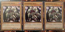 Yu-Gi-Oh! Summoned Skull [x3] (MIL1-EN028) - 1st Edition - Mint - Playset