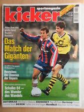 KICKER 28 - 1.4. 1996 * Bayern-BVB 1:0 Schalke-Freiburg 3:0 Yannick Noah Boxen