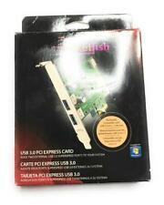 Rocketfish USB 3.0 PCI Express Card Computer Component Part, RF-P2USB3