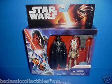 Star Wars The Force Awakens Rebels Darth Vader & Ahsoka Tano Figure 2-Pack New!