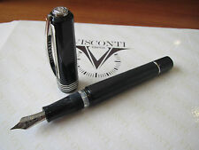 Visconti Opera Master Uluru grey-black LE Fount pen 23kt Med nib, with pen case