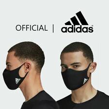Adidas Face Mask Cover 100% Authentic Adult Size Medium/Large Black