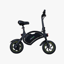Jetson Bolt Electric Bike Black/Green Compact Commuter Bike (Green Stripe Tire)