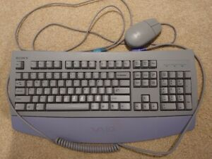 Sony VAIO PS/2 Keyboard and Mouse purple/gray