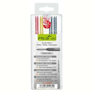 Pica Dry Pen/Pencil Mixed Refill Pack 4020 (pack of 8) - PICA 4020