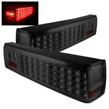 Ford 87-93 Mustang Smoked Rear Tail Lights Brake Lamps Left & Right Set