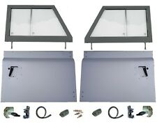 Pair Galvanised Door tops For Land Rover Series 2//2a Models 1958-71 Unglazed
