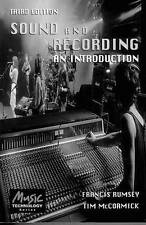 Sound and Recording:  An Introduction (Music Technology) by Rumsey, Francis, Mc