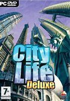 City Life Deluxe PC, Computerspiel Aufbaustrategie Städtebau Simulation Neuware
