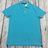 Gap Mens (M) Medium Teal Blue Polo Shirt. Nwt