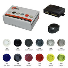 Car Rear Reversing Reverse Parking 12v 4 Painted/Colour Sensor Kit Audio Alarm