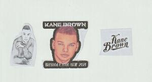 Lot of 3 Kane Brown stickers Your a Kane brown fan id Bid Now at smokejoe13 ....