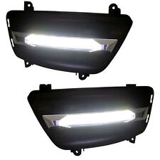 LED Day Running Light Fog Lamp Assy 2p For 07 08 09 10 11 12 Kia Rondo : Carens