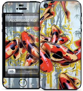 Gelaskin Gelaskins iPhone 5 5S Blaine Fontana Acclimated Koi