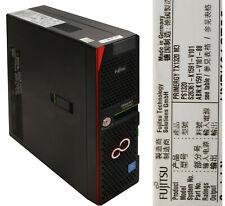 FUJITSU PRIMERGY TX1320 M3 BAREBONE FCLGA1151 MIT CPU KÜHLER OHNE CPU RAM HDD B1