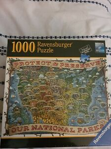 "Ravensburger  ""Protect and Preserve USA"" 1000 Piece Puzzle Our National Parks"