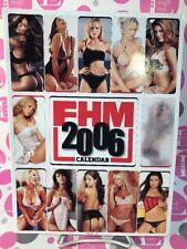 FHM 2006 CALENDAR Vida Guerra,Megan Fox,Teri Hatcher,Jaime Pressly,Mirah Carey